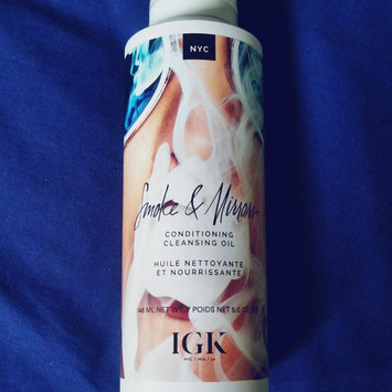 Photo of IGK Smoke & Mirrors Conditioning Oil 5 oz uploaded by Yoselin L.