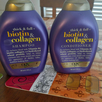 Photo of OGX® Biotin & Collagen Shampoo uploaded by Debbie h.