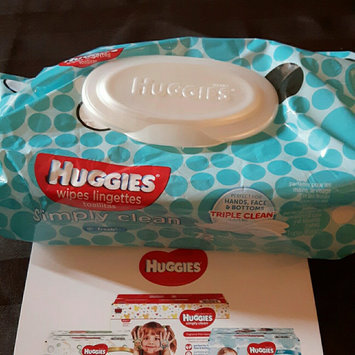 Huggies® Simply Clean Baby Wipes uploaded by Courtenay C.