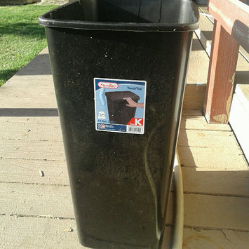 Photo of Sterilite 10459004 13 gal 49 ltr. Touch Top Wastebasket Can Black uploaded by Amorette M.
