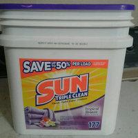 Sun® Triple Clean Tropical Breeze® Laundry Detergent & All Purpose Cleaner 22.7 lb. Pail uploaded by Amorette M.