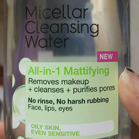 Garnier Skin Skinactive Micellar Cleansing Water All-In-1 Cleanser and Waterproof Makeup Remover uploaded by Phelicia M.