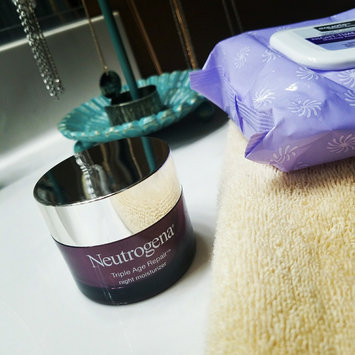 Photo of Neutrogena® Triple Age Repair Night Moisturizer uploaded by Rebecca H.