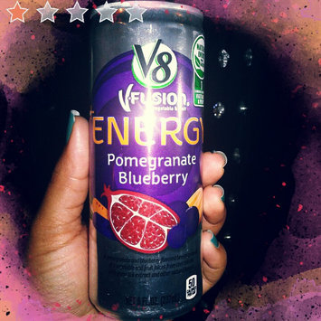 Photo of V8® V-Fusion + Energy Peach Mango Flavored Vegetable & Fruit Juice uploaded by Kristal R.