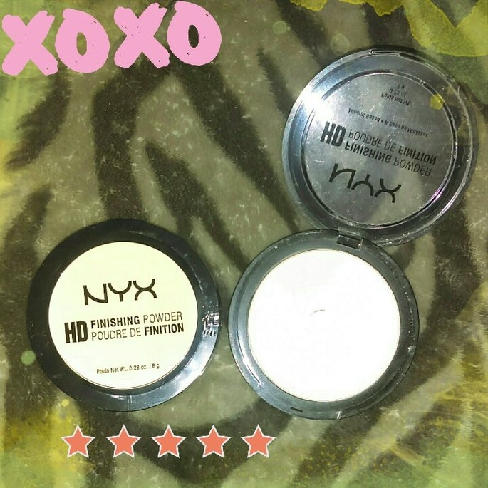 NYX HD Finishing Powder Banana uploaded by Brookelynne T.