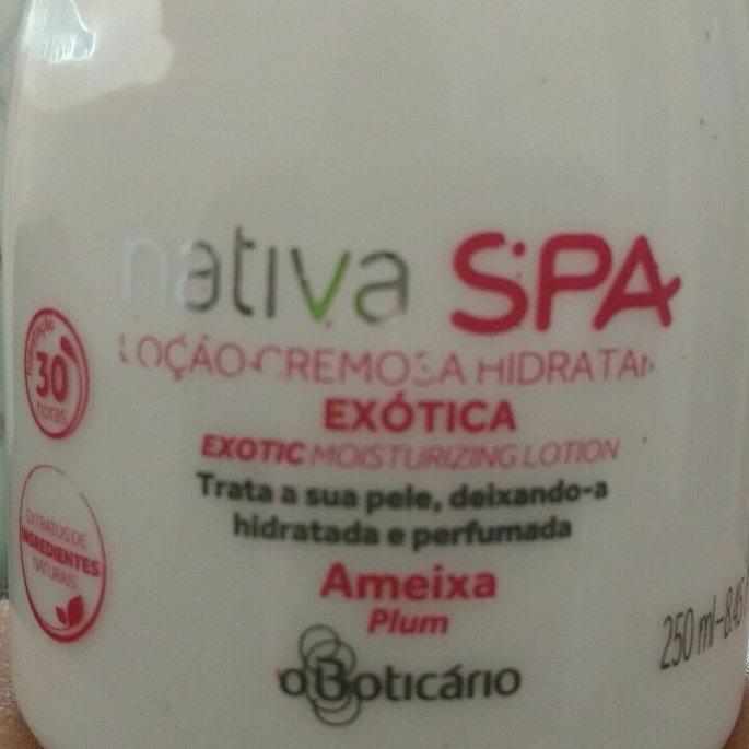 O Boticario Nativa SPA Body Lotion Plum [Loçao Hidratante Exotic Ameixa] 400ml uploaded by camile m.