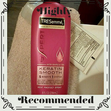 TRESemmé Keratin Smooth Heat Protection Shine Spray uploaded by Kimberly M.