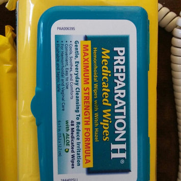 PREPARATION H MEDICATED WIPES REFILL 48C uploaded by Leidi R.