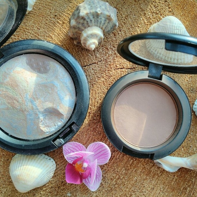 M.A.C MAC mineralize skinfinish LIGHTSCAPADE ~ Fall Colour Angel Flame uploaded by EZX Anna C.