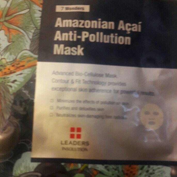 Leaders 7 Wonders Amazonian Acai Anti-Pollution Sheet Mask uploaded by Lakesha E.