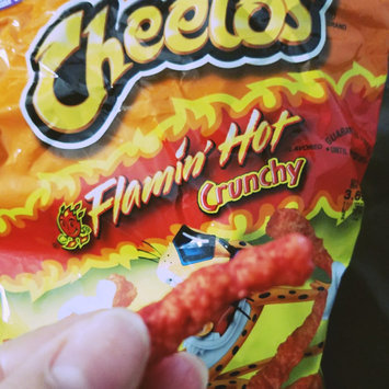 Cheetos Flamin' Hot Crunchy Cheese Flavored Snacks uploaded by Delilah S.