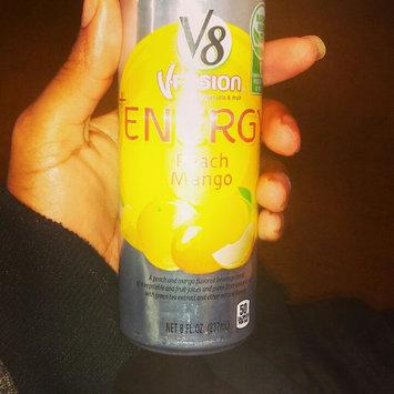 Photo of V8® V-Fusion + Energy Peach Mango Flavored Vegetable & Fruit Juice uploaded by Preshae H.