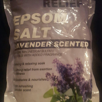 Photo of Relief MD Epsom Salt Lavender - Calming & Relaxing Soak, 16 oz,(Blue Cross Laboraties) 12 PACK uploaded by Elyse S.