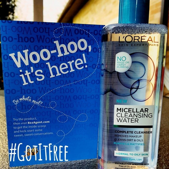 L'Oreal Paris Micellar Cleansing Water for Normal to Oily Skin 13.5 fl. oz. Bottle uploaded by Kelsey W.