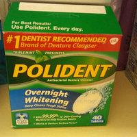 Polident Overnight Whitening uploaded by Leidi R.