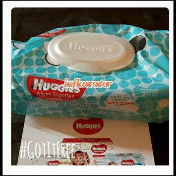 Huggies® Simply Clean Baby Wipes uploaded by Tara h.