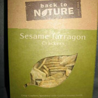 Back To Nature Sesame & Tarragon Crackers ( 6x6.5 OZ) uploaded by Andreina L.