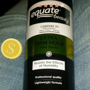 Photo of Equate Beauty Extra Firm Hold Hair Spray, 11 oz uploaded by Rebecca B.