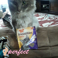 Meow Mix Irresistibles Crunchy White Meat Chicken & Turkey Cat Treats, 2.5-Ounce uploaded by Moriah S.