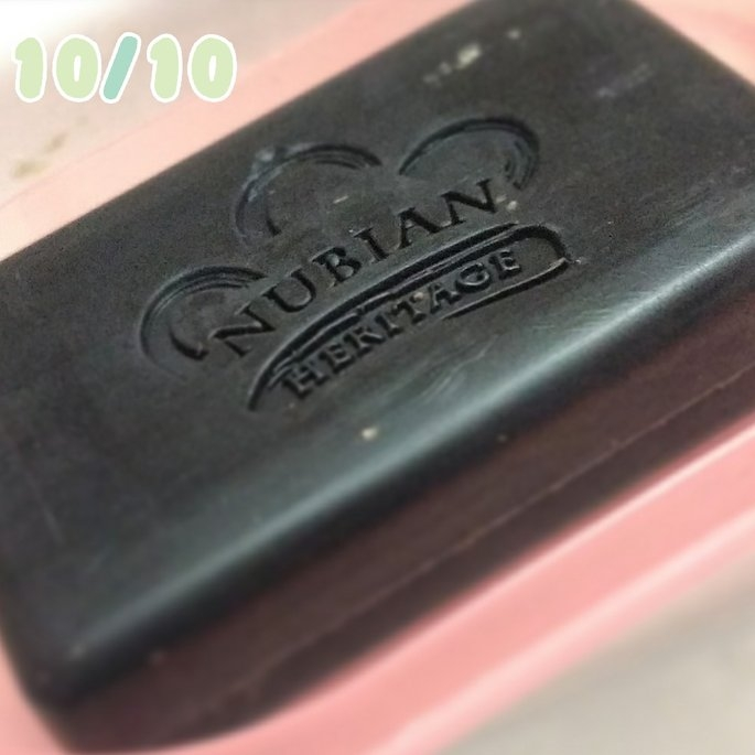 Nubian Heritage African Black Soap uploaded by Johanna C.
