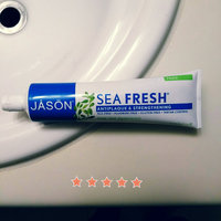 Jason Sea Fresh Deep Sea Spearmint Antiplaque & Strengthening Toothpaste, 6 oz uploaded by Jennifer W.