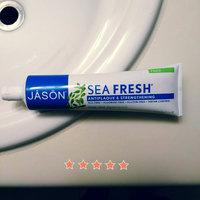 Jason Sea Fresh Deep Sea Spearmint Antiplaque & Strengthening Toothpaste, 6 oz uploaded by Jennifer W.