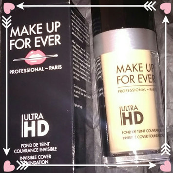 MAKE UP FOR EVER Ultra HD Foundation uploaded by Izelda B.