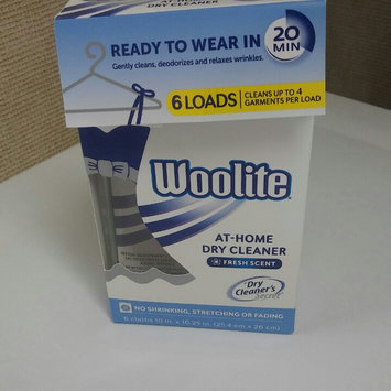 Woolite At-Home Dry Cleaner, Fresh Scent, 6 ea uploaded by Leidi R.