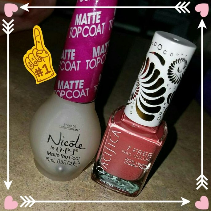 Nicole Miller Nicole by OPI Matte Top Coat uploaded by Amanda S.