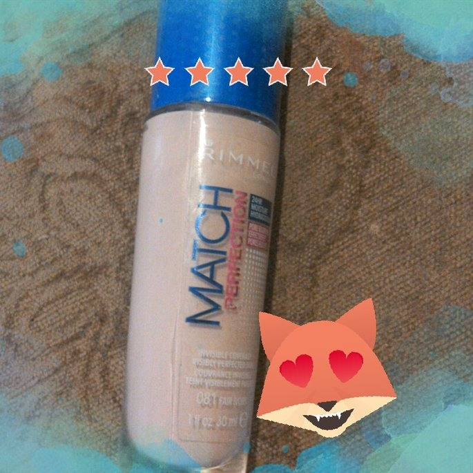 Rimmel London Match Perfection Foundation  uploaded by Simona C.