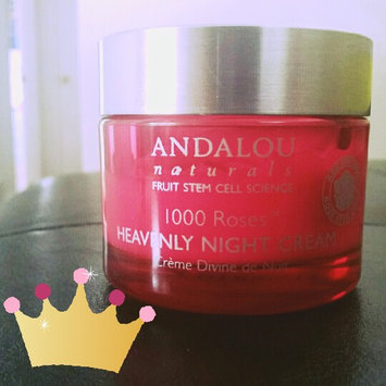 Photo of Andalou Naturals 1000 Roses Heavenly Night Cream, 1.7 fl oz uploaded by Hina R.