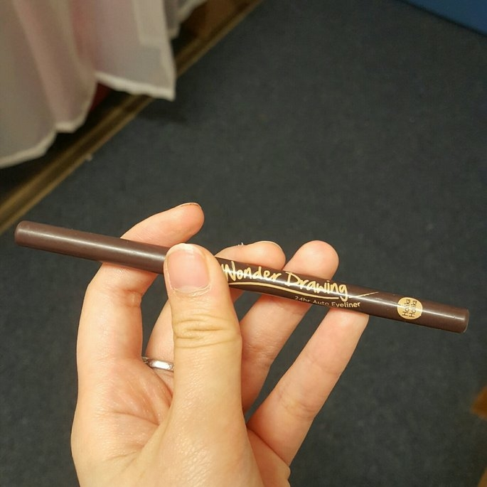 [Holika Holika] Wonder Drawing 24hr Auto Eyeliner (03 White) uploaded by Queenie W.