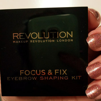 Photo of Makeup Revolution Focus & Fix Brow Kit uploaded by Renay P.