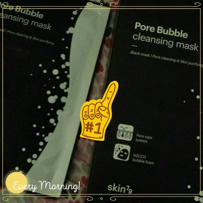 SKIN79 - Pore Bubble Cleansing Mask 1 pc uploaded by SUKI L.