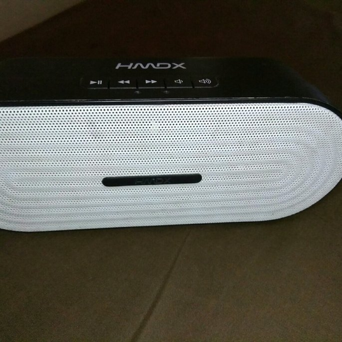 HDMX HMDX Rave Wireless Portable Speaker - Blue (HX-P205BL) uploaded by Unique W.