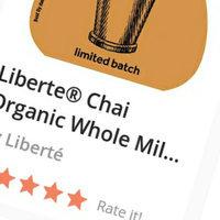 Liberté® Chai Organic Whole Milk Yogurt uploaded by Mei D.