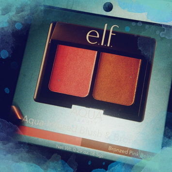 e.l.f. Bronzer Blush Medium Multi-color .29 oz, Bronzed Pink Beige uploaded by Layla 💜.