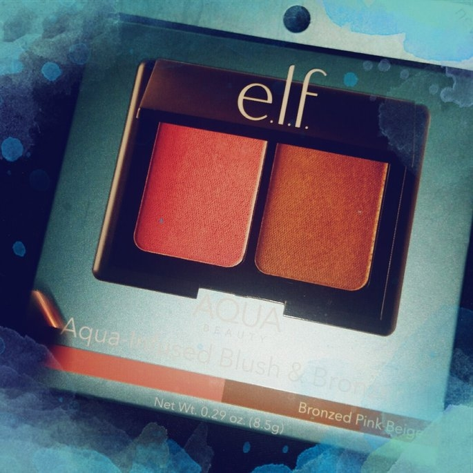 e.l.f. Bronzer Blush Medium Multi-color .29 oz, Bronzed Pink Beige uploaded by Layla 💜.