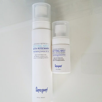 Photo of Supergoop! Defense Refresh Setting Mist SPF 50 uploaded by Anaira V.