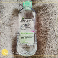 Garnier Skin Skinactive Micellar Cleansing Water All-In-1 Cleanser and Waterproof Makeup Remover uploaded by BettyLina T.