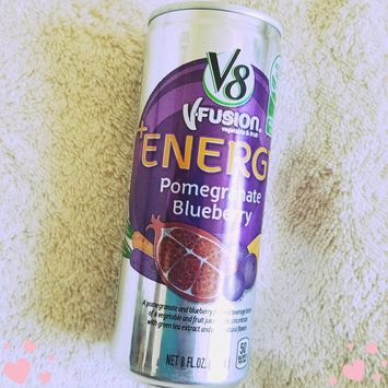 V8 Juice V8 V-Fusion Energy Pomegranate Blueberry Vegetable & Fruit Juice 8 oz, uploaded by Arwa M.