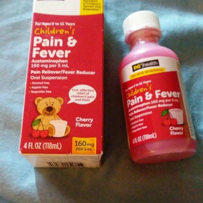 DG Health Children's Pain Relief Oral Suspension - Cherry Flavor uploaded by Michelle D.