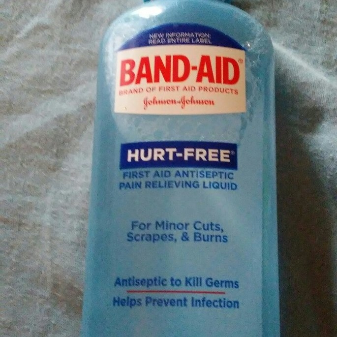 Band-Aid® Brand First Aid Hurt-Free™ Antiseptic Wash Wound Cleansing 6 Fl Oz Plastic Bottle uploaded by Michelle D.