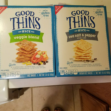 Good Thins Garlic & Herb Chickpea Snacks uploaded by Jordan S.
