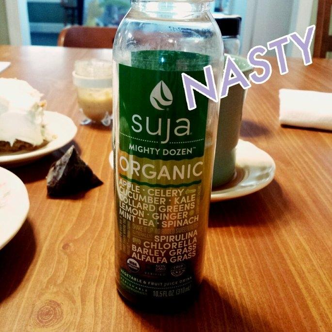Suja® Organic Mighty Greens™ Fruit & Vegetable Juice uploaded by Kat M.