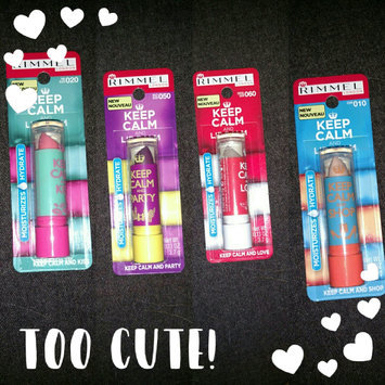 Photo of Rimmel Keep Calm and Lip Balm Collection uploaded by Juanita S.