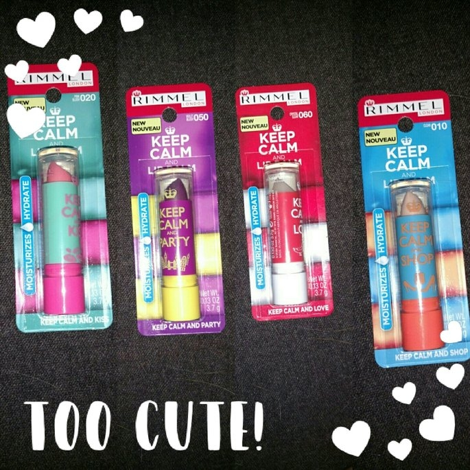 Rimmel Keep Calm and Lip Balm Collection uploaded by Juanita S.