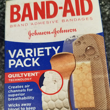 Photo of Band-Aid Adhesive Bandages Sheer Strips Extra Large - 10 CT uploaded by Krista A.