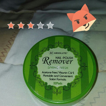 Photo of Nicka K New York Absolute Nail Polish Remover uploaded by Leidi R.