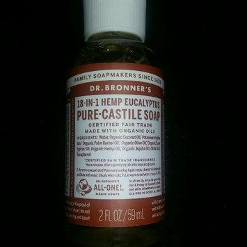 Dr. Bronner's Eucalyptus Castile Liquid Soap - 59ml uploaded by Victoria W.